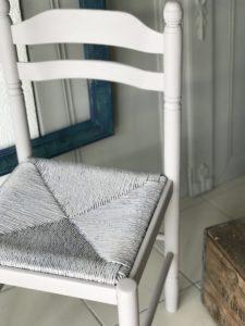 chaise paloma peinture