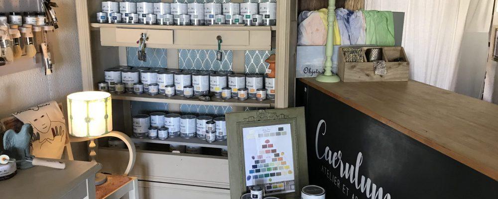 caerulum counter and paint