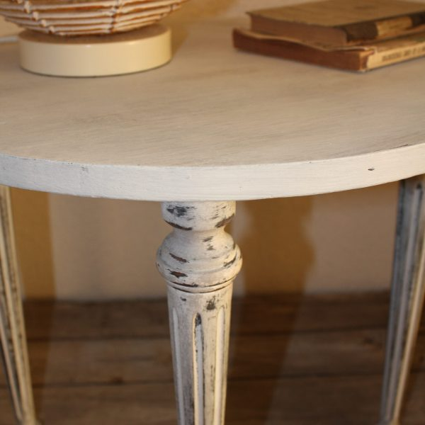 table relooke chalk paint original & graphite