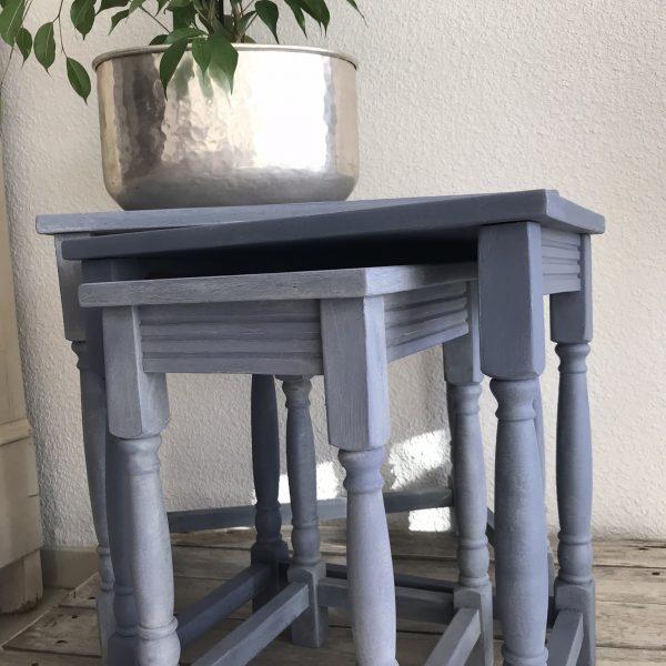 tables gigognes relooke old violet