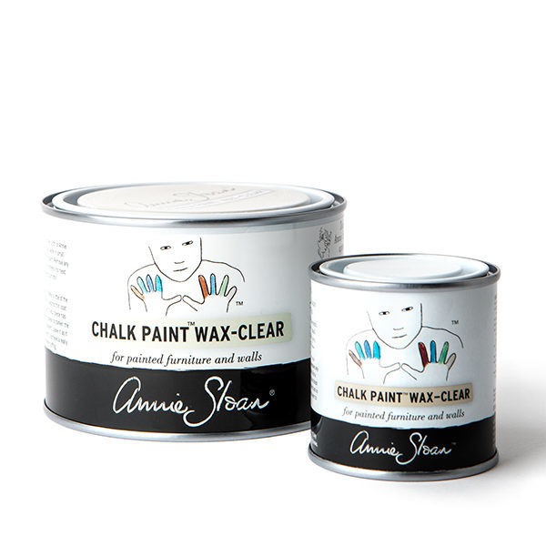 chalk paint clear wax
