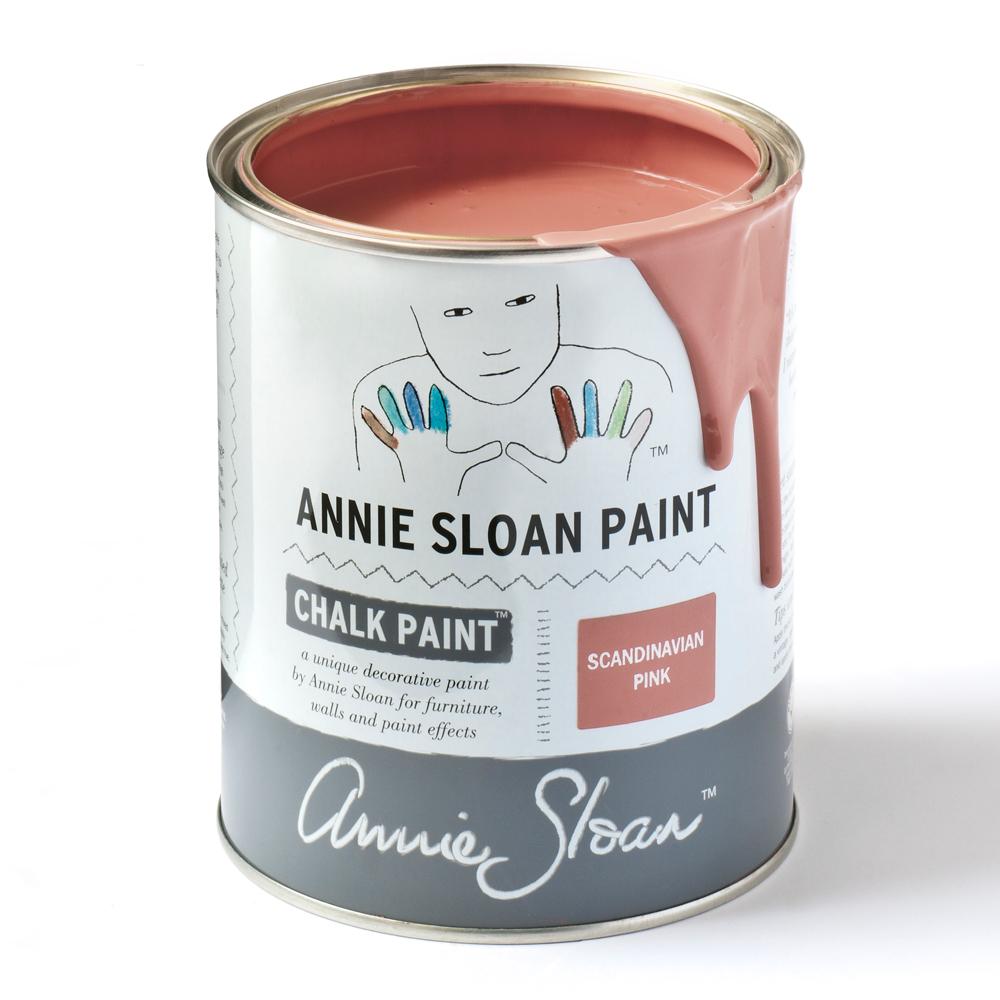 chalk paint scandinavian pink