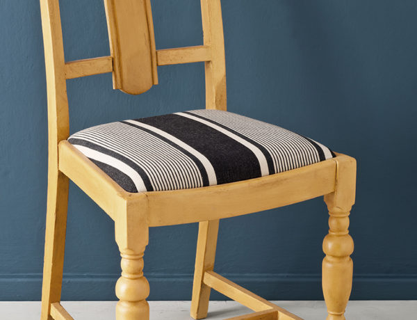 Arles dining chair, Aubusson Blue Wall Paint image 2