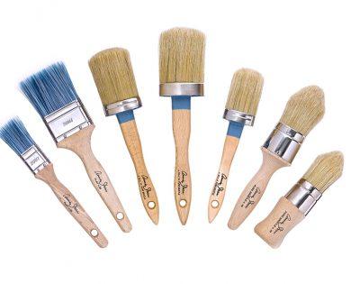 Annie Sloan Chalk Paint Brush selection